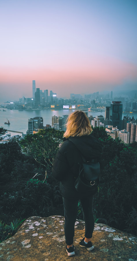 View from Victoria Peak in Hong Kong Hong Kong best places to visit in China
