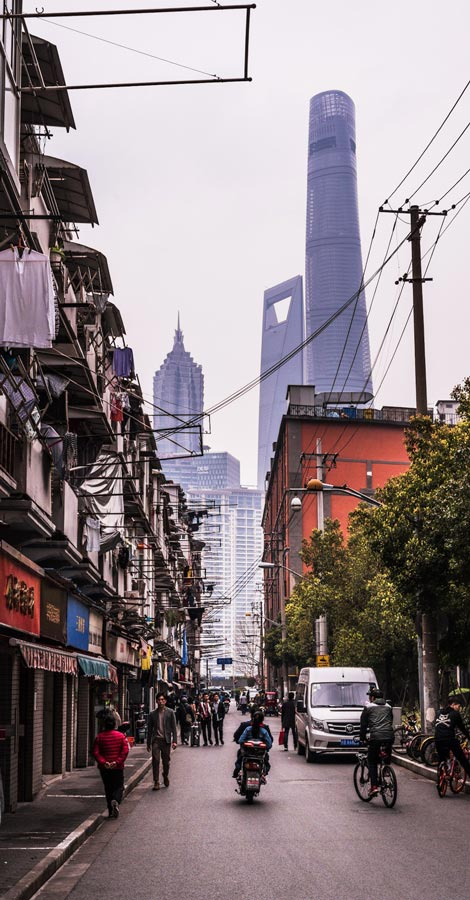 Shanghai back street best places to visit in China
