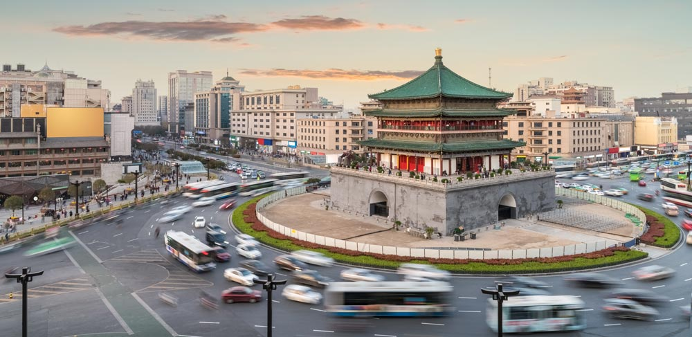 Drum Tower in Xian best places to visit in china
