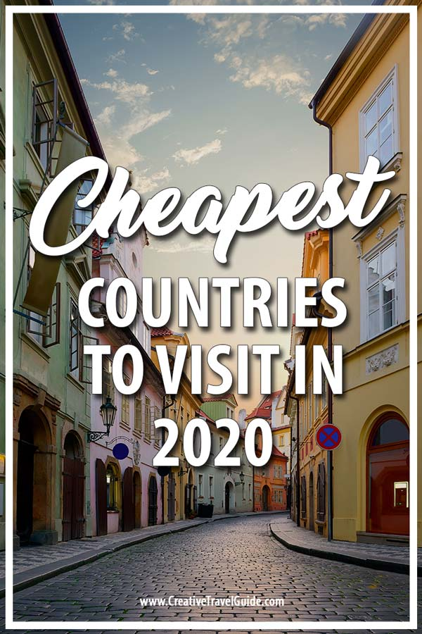 Cheapest countries to visit