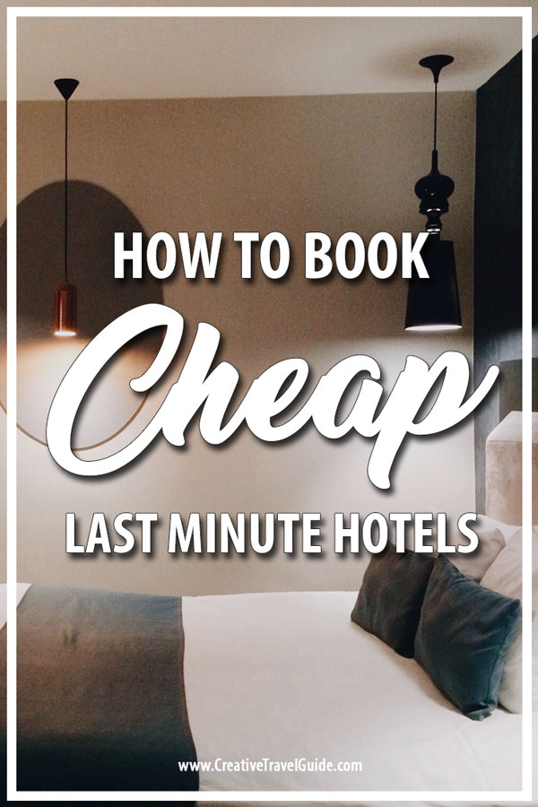 cheap last minute hotels