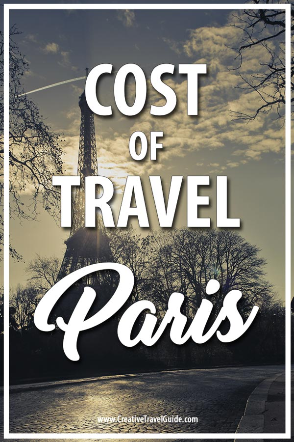 COST OF TRAVEL IN PARIS