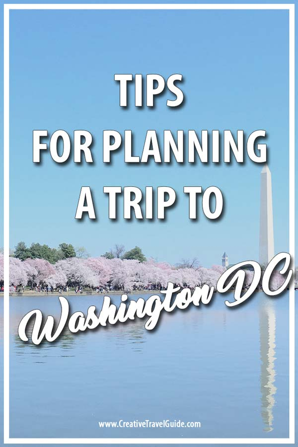 vacationing in washington dc