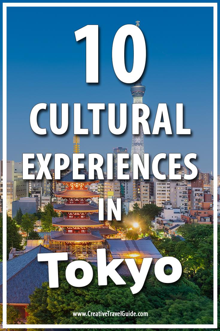experiences in Tokyo