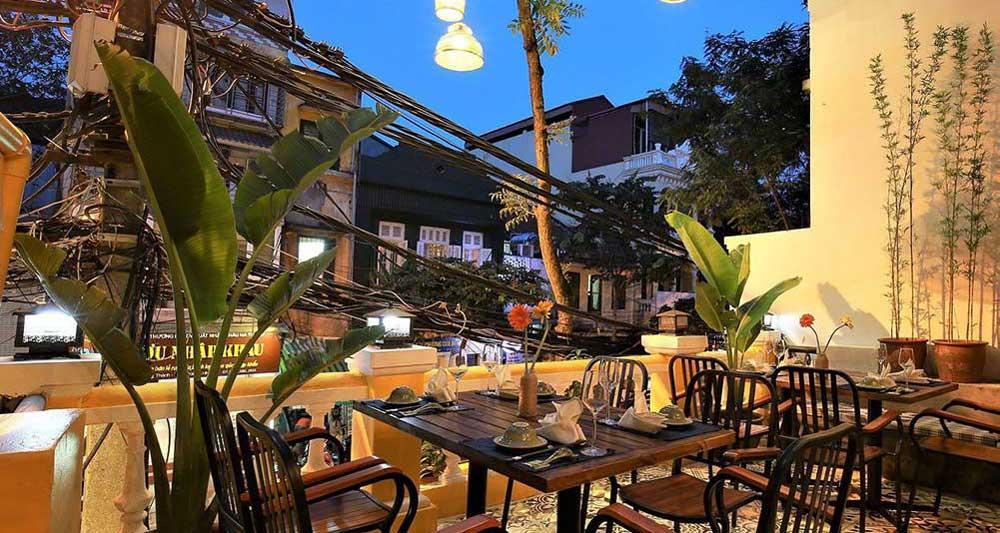 Grandma's Restaurant near Hoan Kiem Lake best restaurants in hanoi
