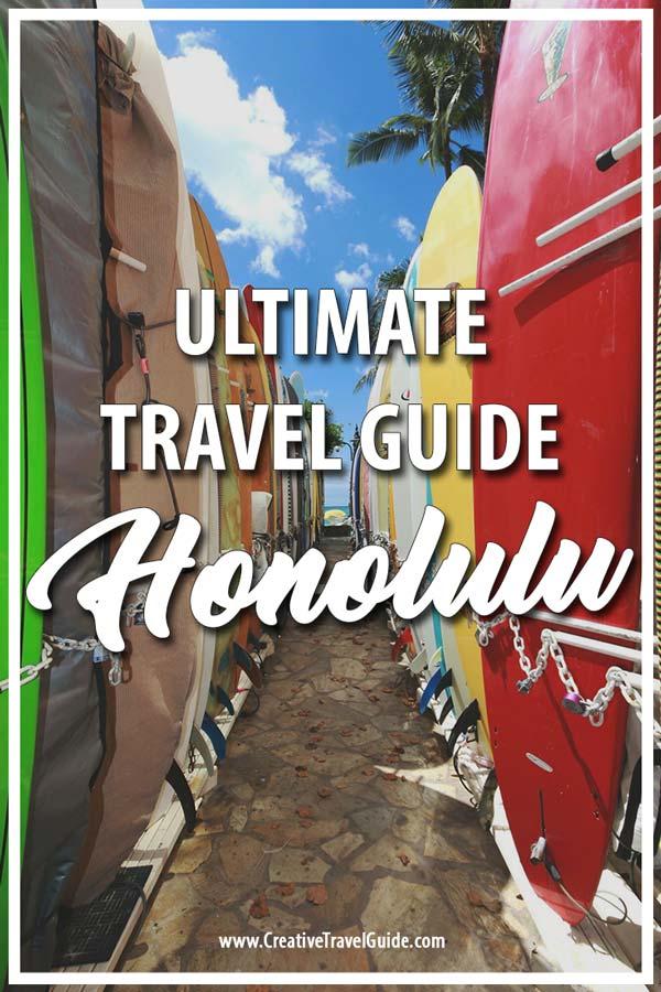 HONOLULU TRIP PLANNER