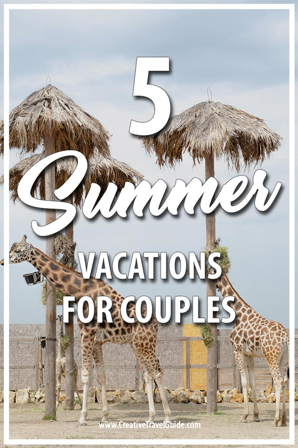 best summer vacations for couples