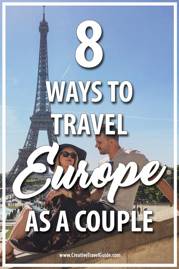 Ways to travel Europe