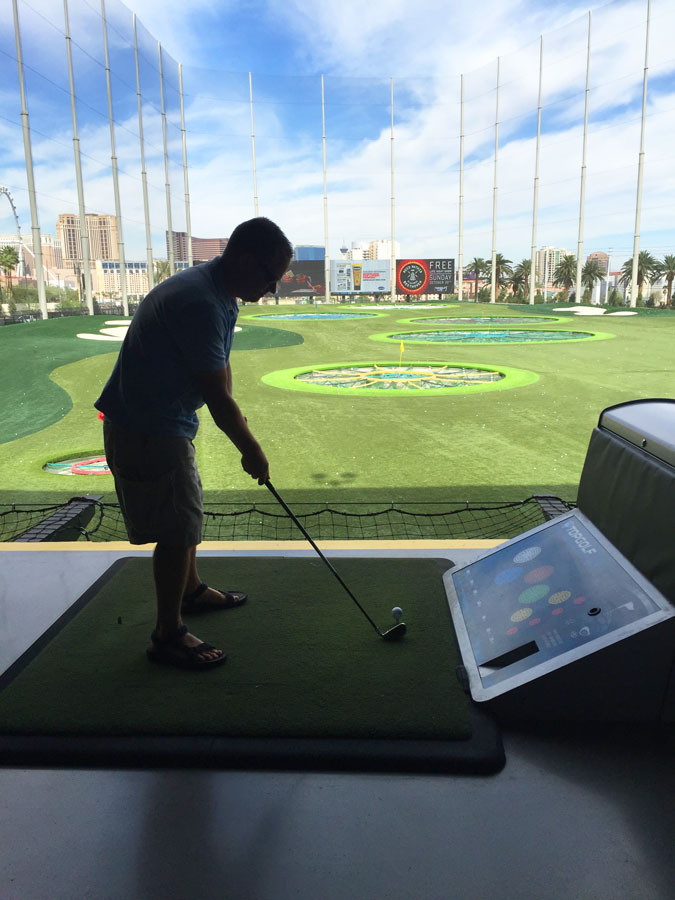 top golf in Las Vegas - things to do in las vegas for couples