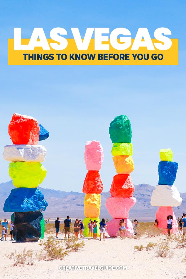 Things to Know Before Visiting Las Vegas