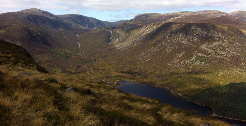 Lock Muick Scotland Family Hiking in the uk