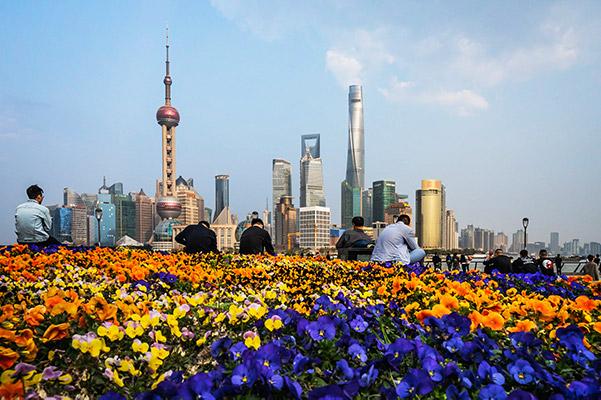 Shanghai the bund view cost of travel in Shanghai China