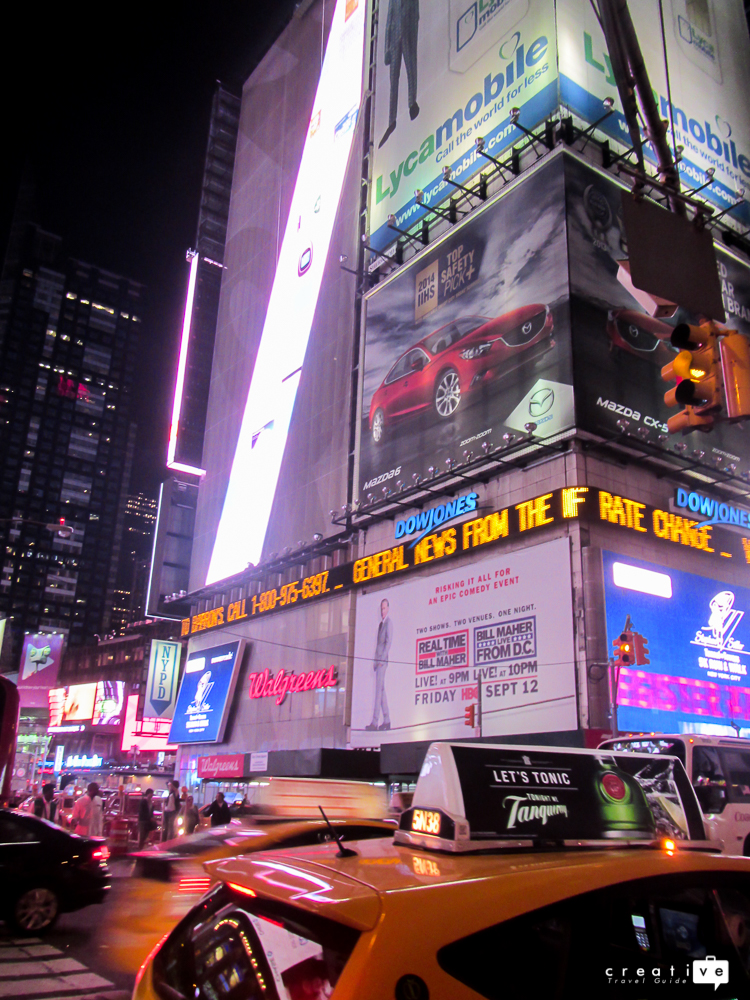 USA Bucketlist Times Square