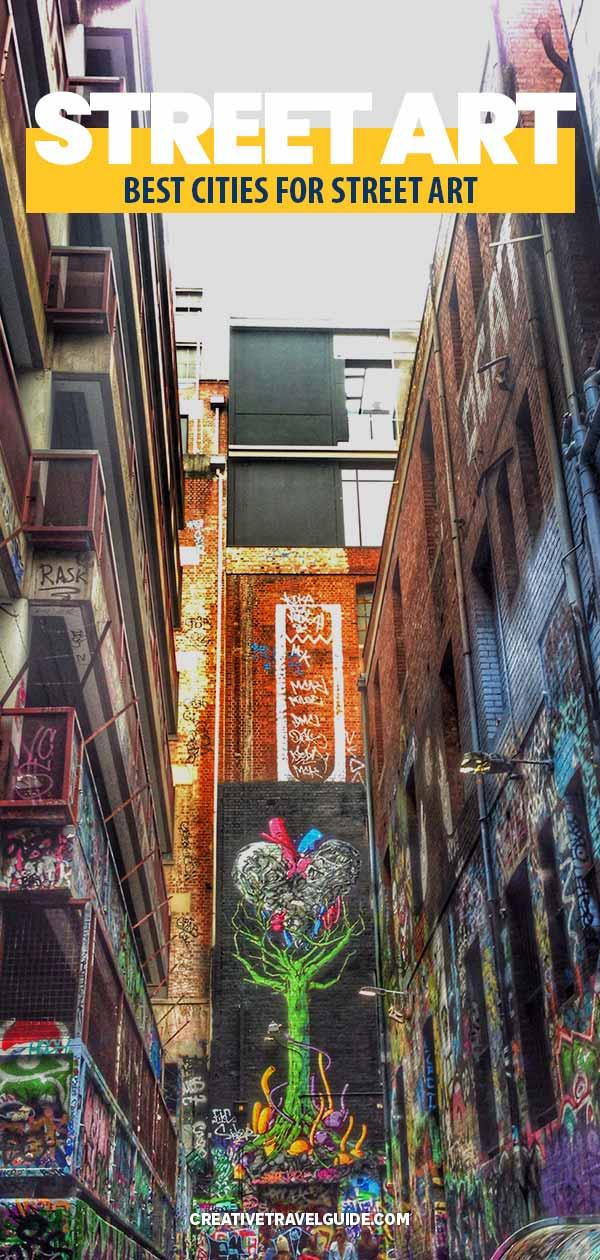 best cities for street art
