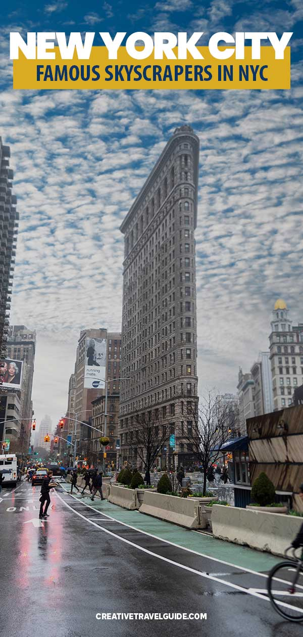 famous skyscrapers in New York City