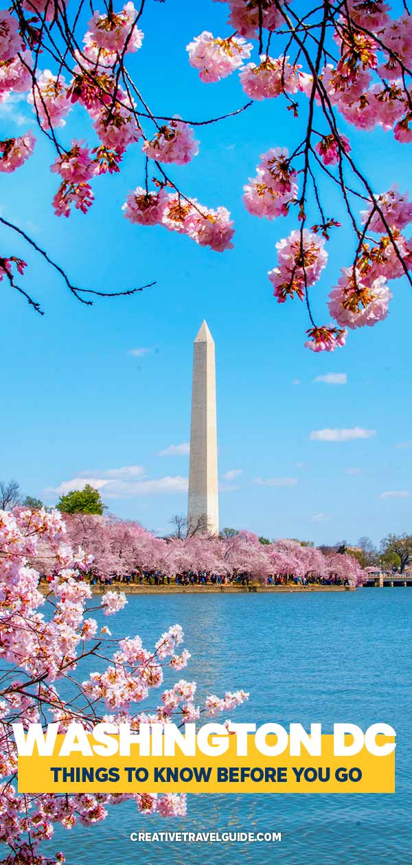 how to plan a trip to Washington DC