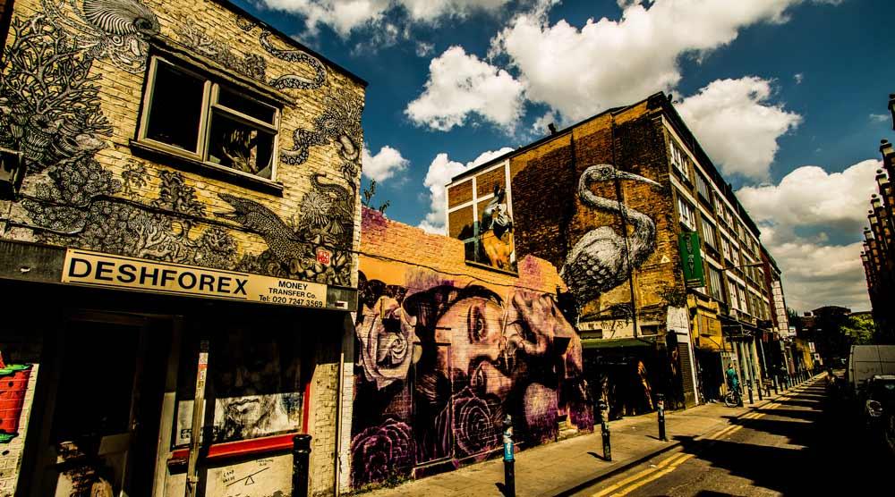 London best cities for street art
