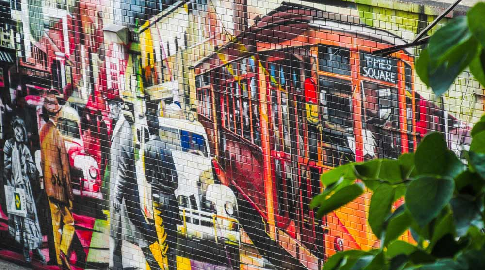 New York best cities for street art