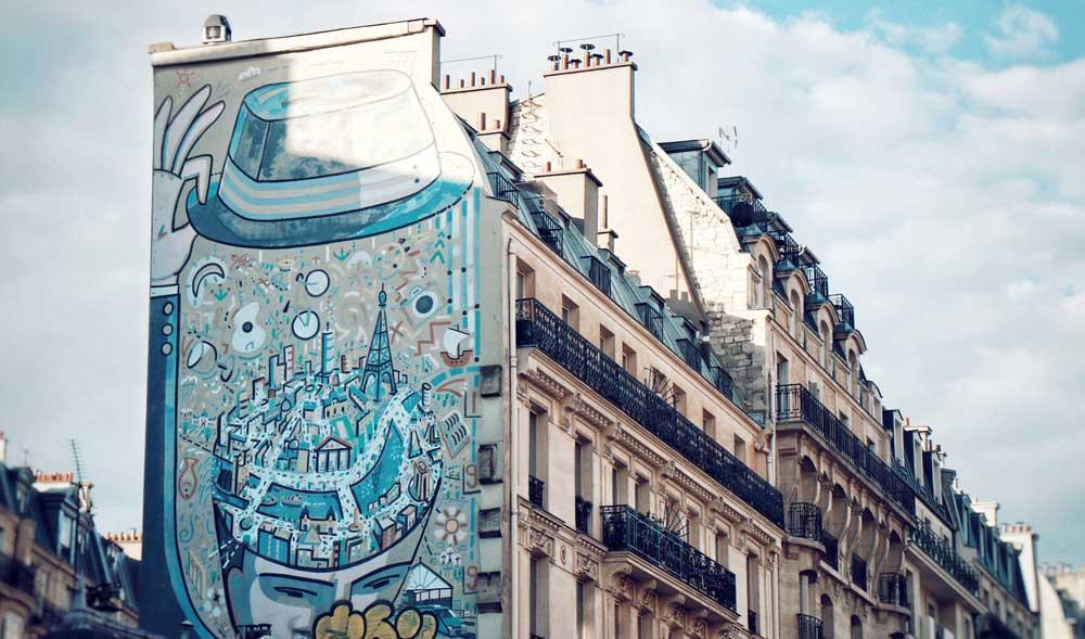 Paris best cities for street art