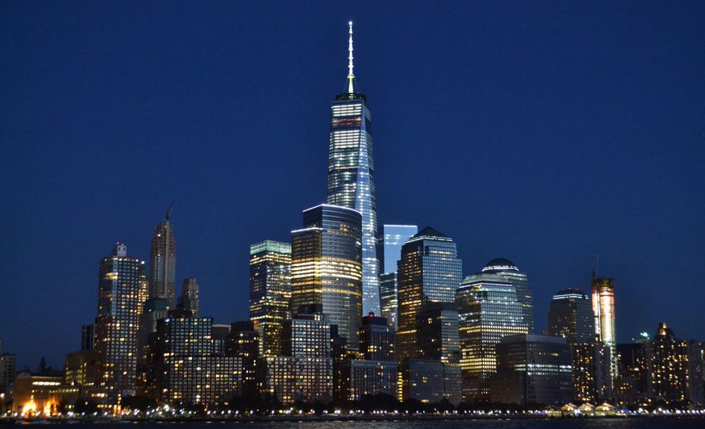 One World Trade Center famous skyscrapers in New York City