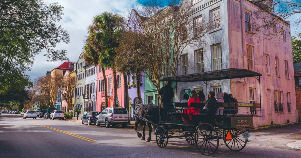 Charleston Romantic places in the usa