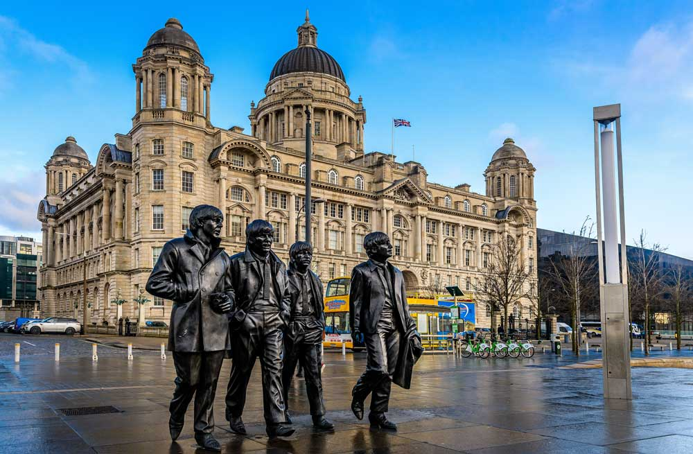 Liverpool places to go for a weekend away in england