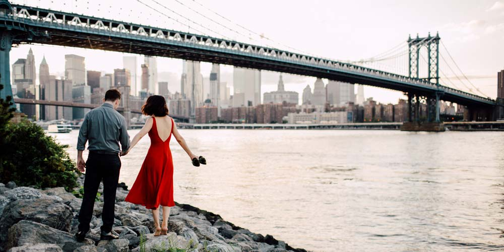 New York City Romantic places in the usa