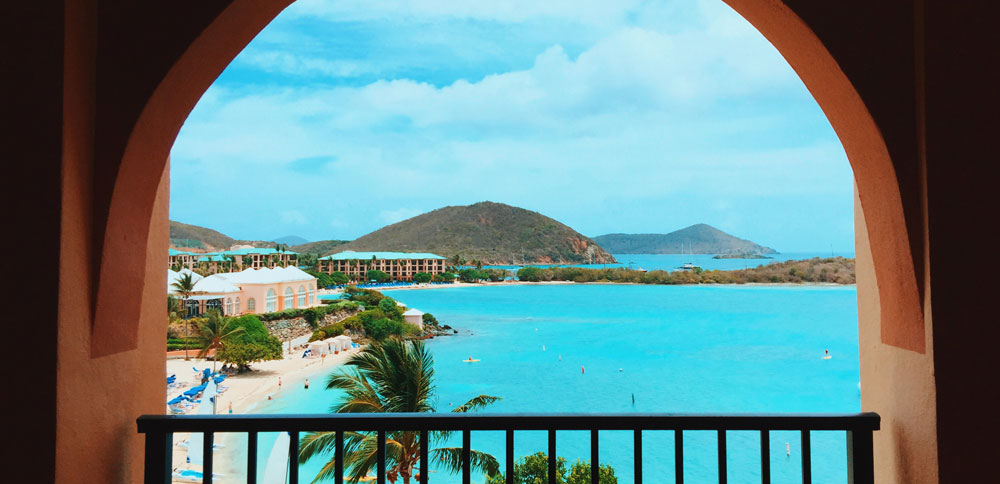 St. Thomas in the U.S. Virgin Islands Romantic places in the usa