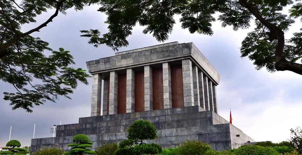 Mausoleum in Hanoi 3 weeks in vietnam