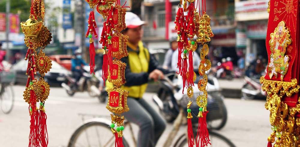 Streets of Ninh Binh 3 weeks in vietnam