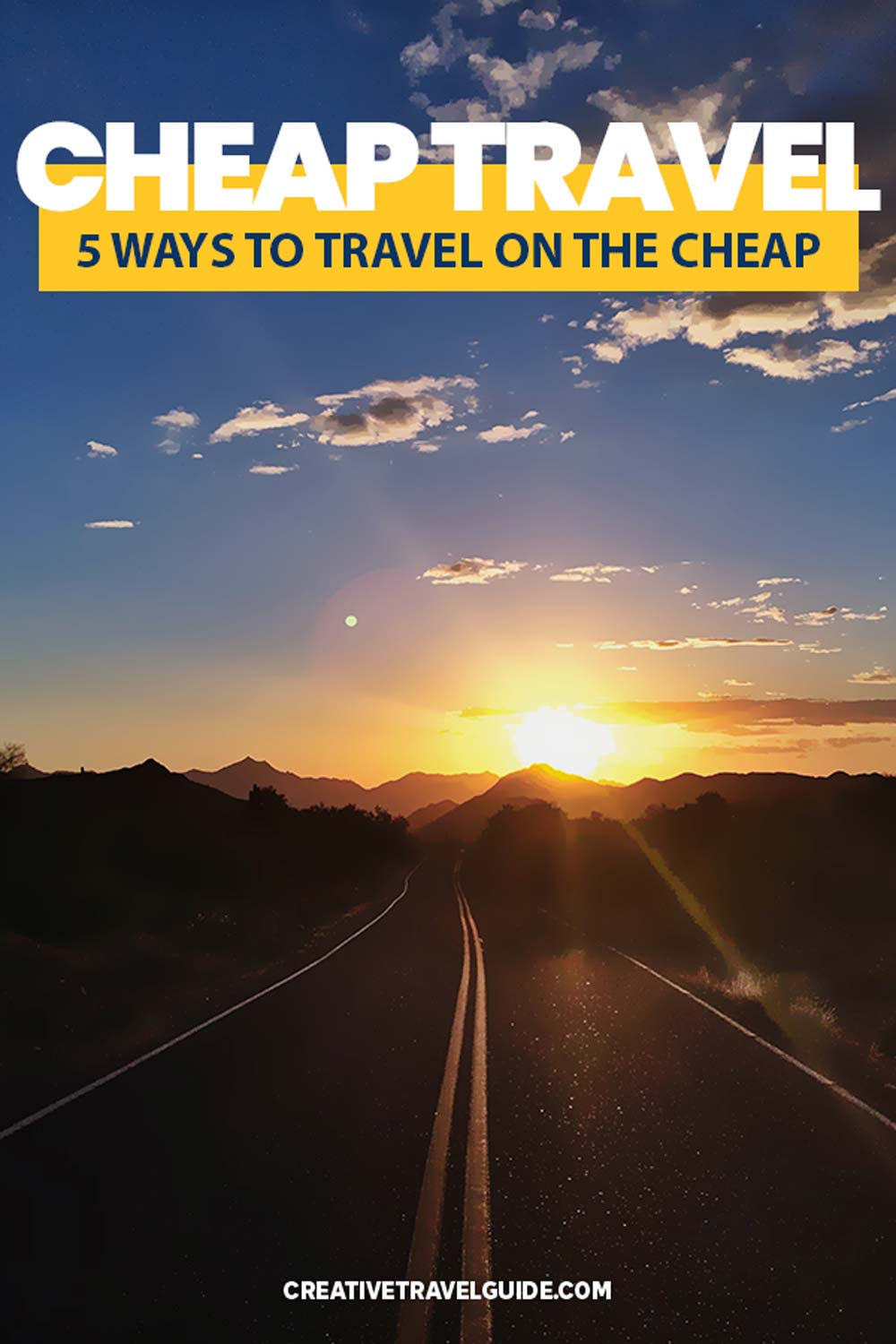 cheapest ways to travel