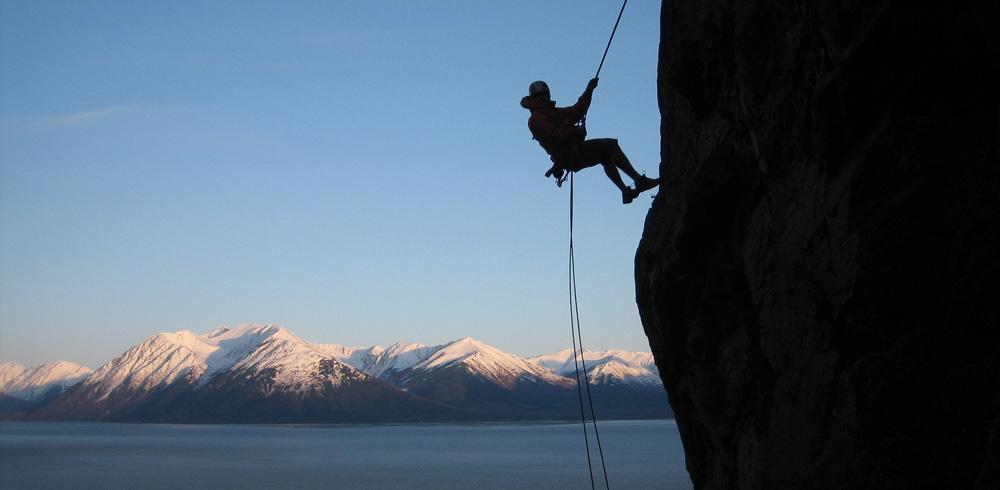 Rock Climbing outdoors silhouette fun outdoor activities