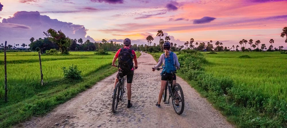 Cycling nature trails fun outdoor activities
