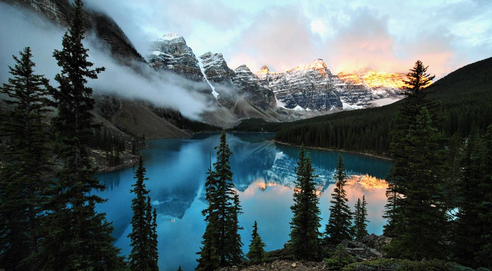 Banff National Park Beautiful travel destinations
