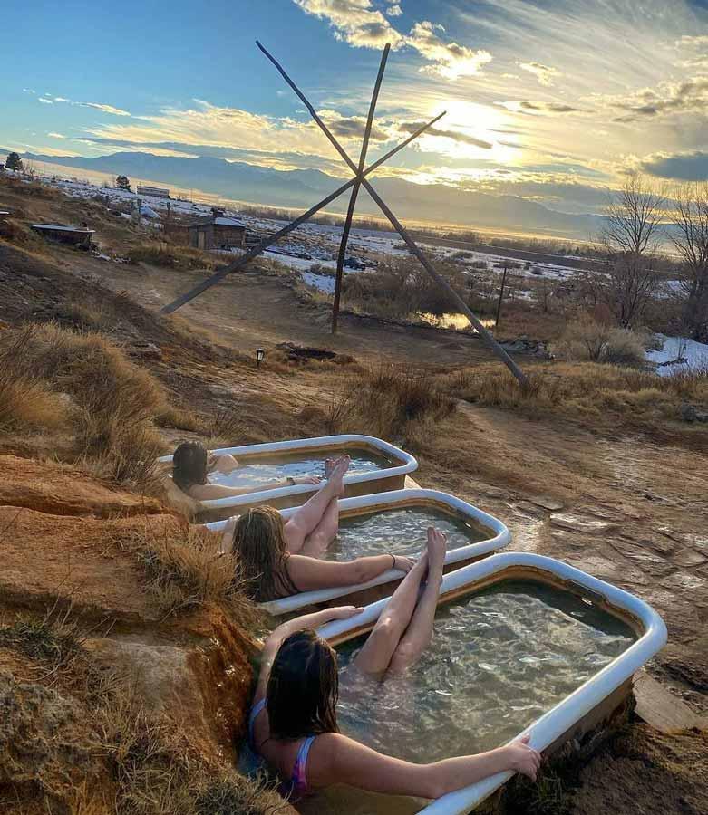 Hot Springs unique camping sites