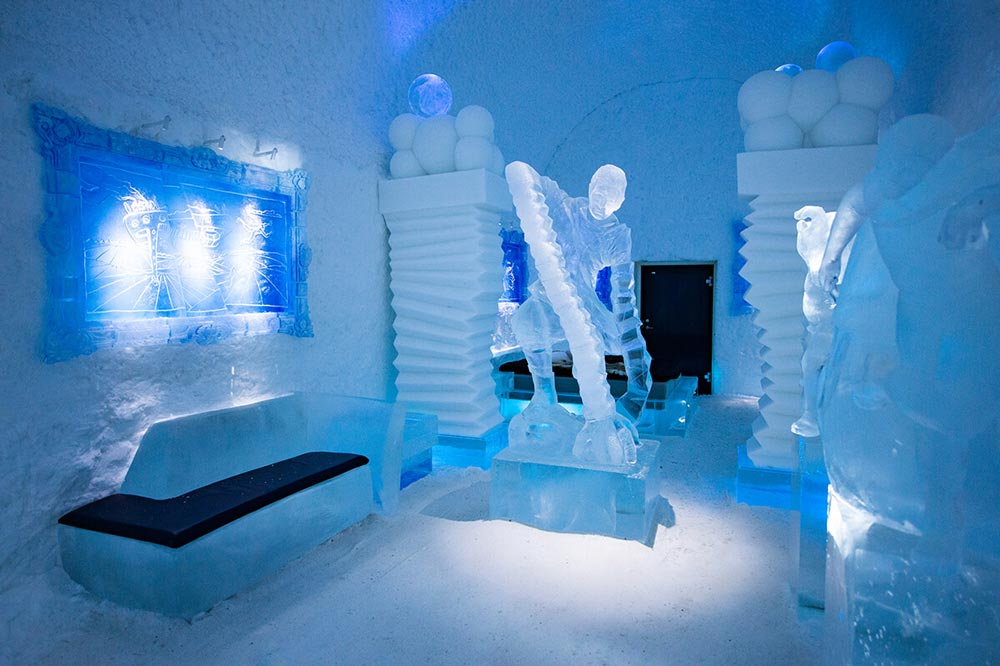 Ice Hotel most interesting hotels in the world