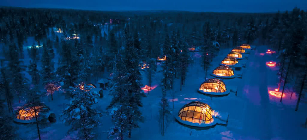Kakslauttanen Unique hotels in the world