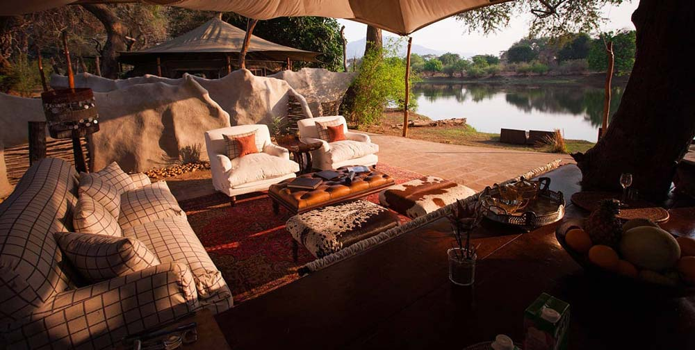 Resort in South Luangwa National Park