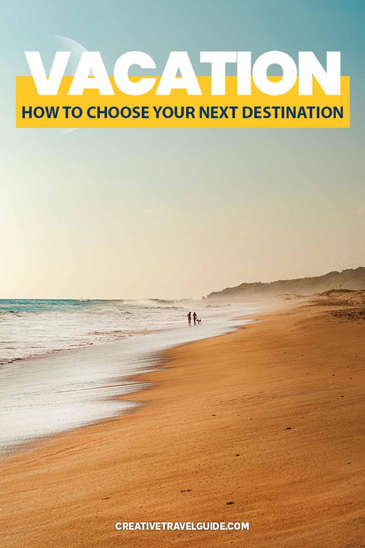 Choose a destination