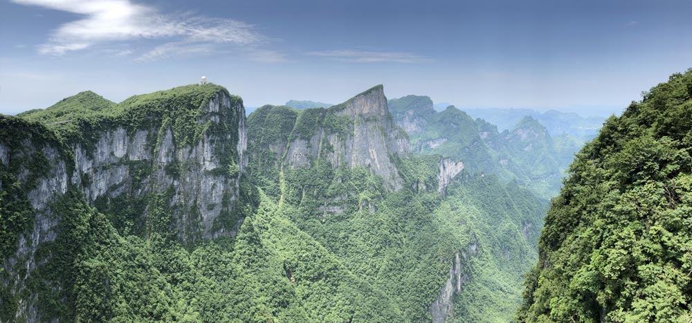 Tianzi Mountains Beautiful travel destinations