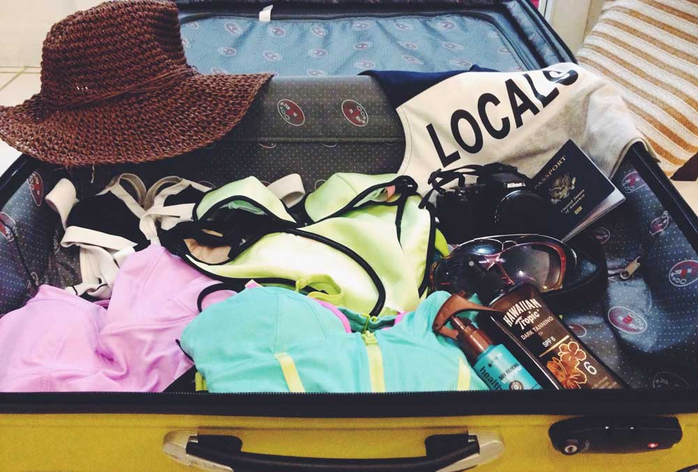 Things to do before leaving for vacation