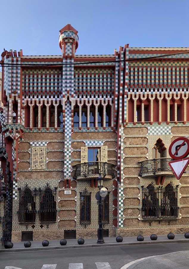 Casa Vicens Hidden gems in barcelona