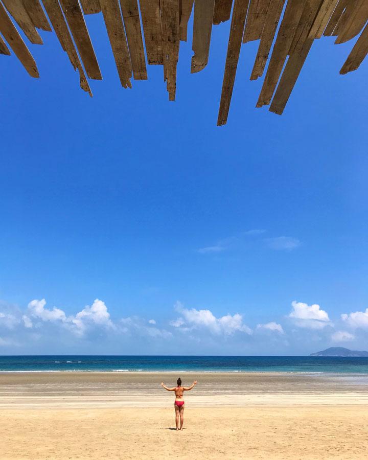 Dam Trau Beach best beaches in Vietnam