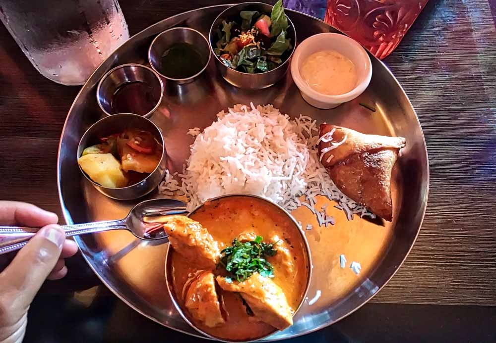Indian curry food