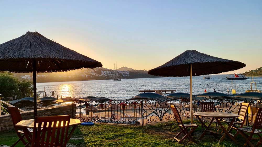 Yalikavak beach in turkey