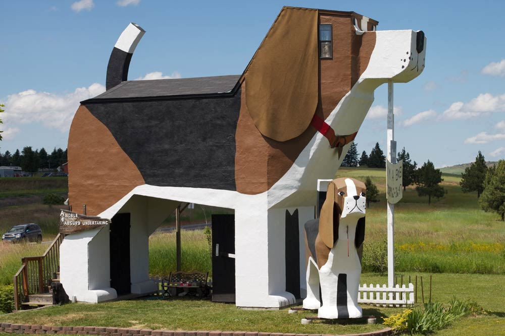 Dog Bark Park Inn most unique hotels in the us