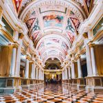 The Venetian Las Vegas lobby Unique hotels to stay in the usa
