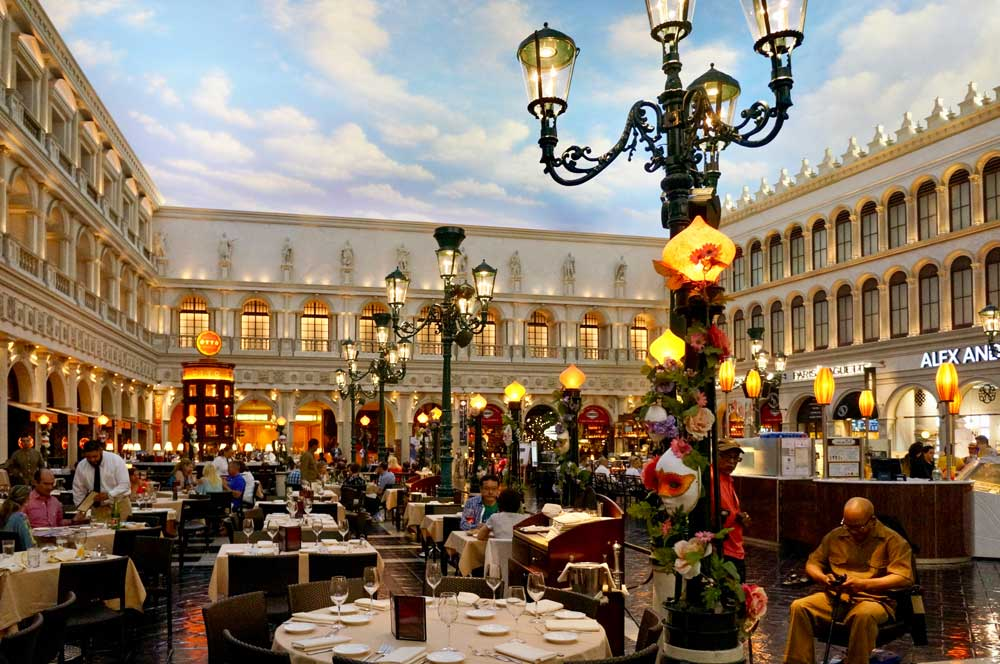 Venetian hotel in Las Vegas most unique hotels in the us