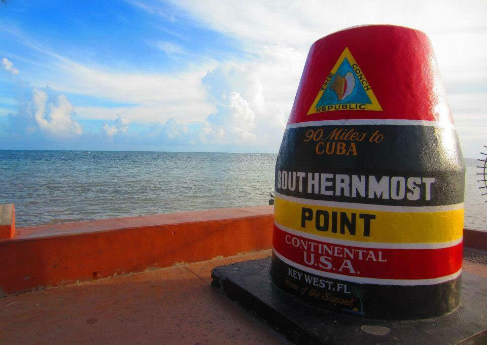 Southernmost point in the usa Key West