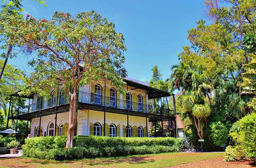 Hemingways house in Key West